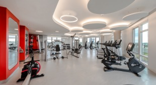 Our apartments near McLean, VA come equipped with a cutting edge fitness studio.