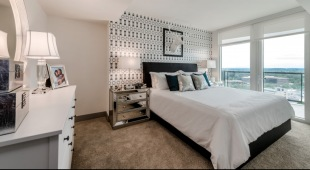 Picture yourself waking up to this view at our high rise apartments in Tysons.