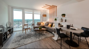 Our Tysons VA apartments include open floor plans and walk-out balconies.